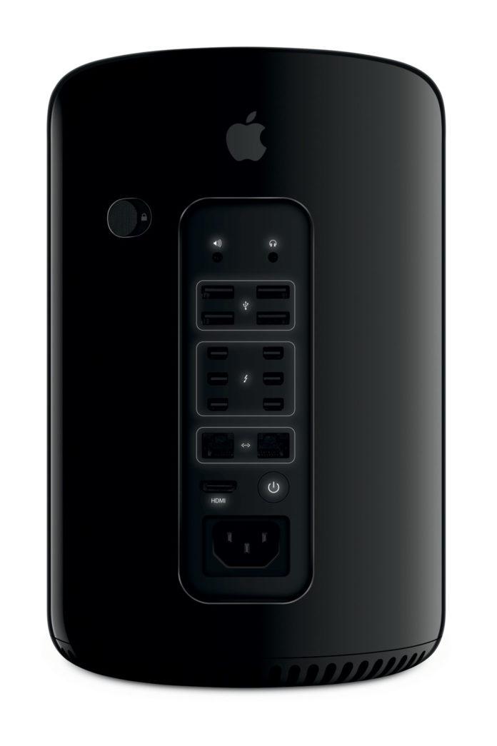 Mac Pro Back Glow