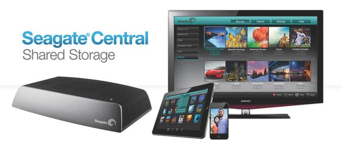 Seagate Central Shared Storage