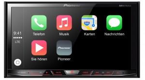 Pioneer Gerät mit Apple CarPlay