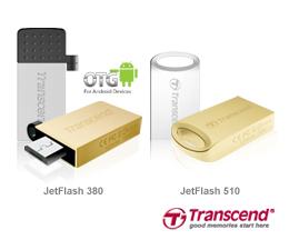 Transcend JetFlash 380 und JetFlash 510