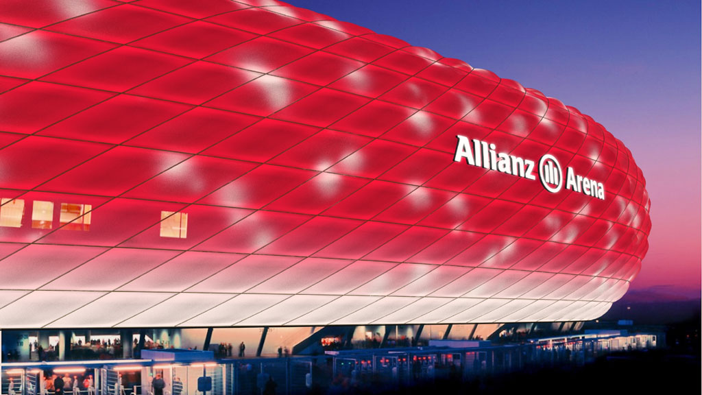 LED Beleuchtung Allianz Arena