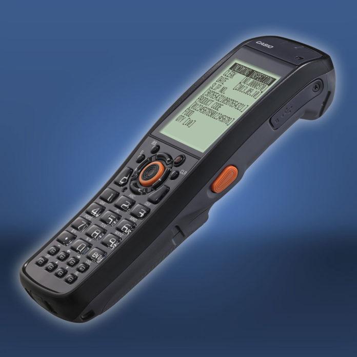 Casio Scanner-Terminal DT-970