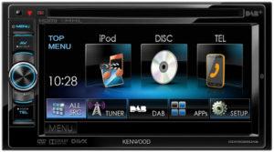 DDX5025DAB GUI-Menü