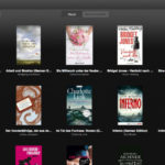 Kindle Cloud Reader - Bibliothek