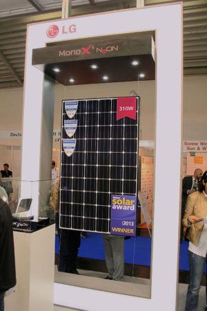LG auf der Intersolar 2014