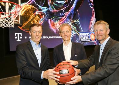 Deutsche Telekom ist neuer Partner der Beko Basketball Bundesliga