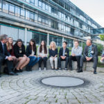 Der Highschool-Jahrgang 2014/15 mit Prof. Kempf und OStD Hauenstein. Quelle: DATEV eG