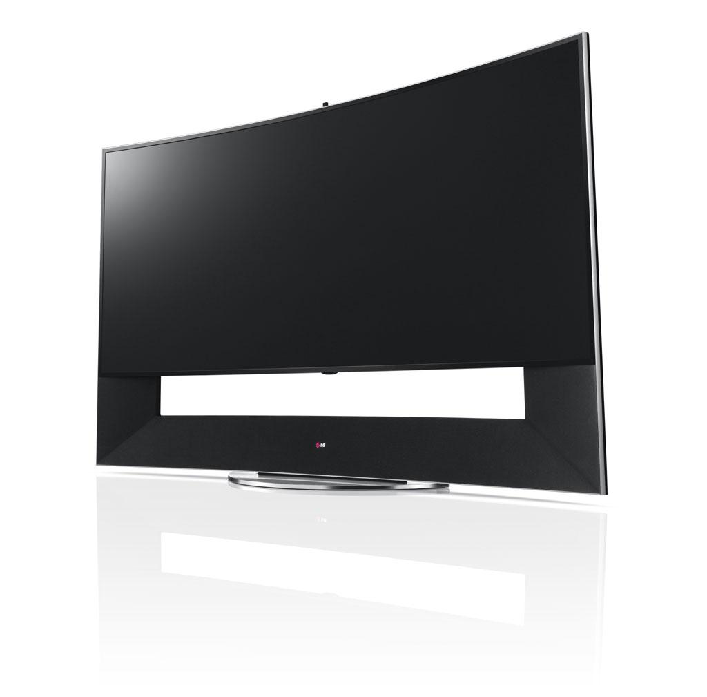 LG Curved Ultra HD-TV