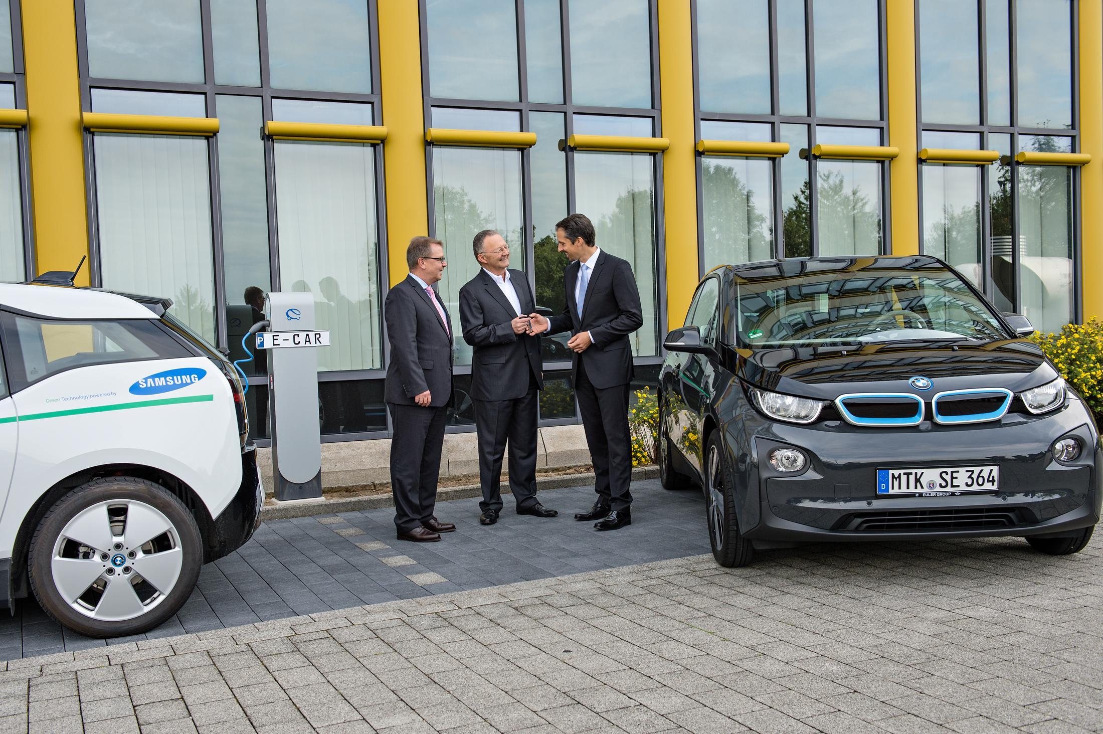 Samsung setzt auf Elektromobilität von BMW