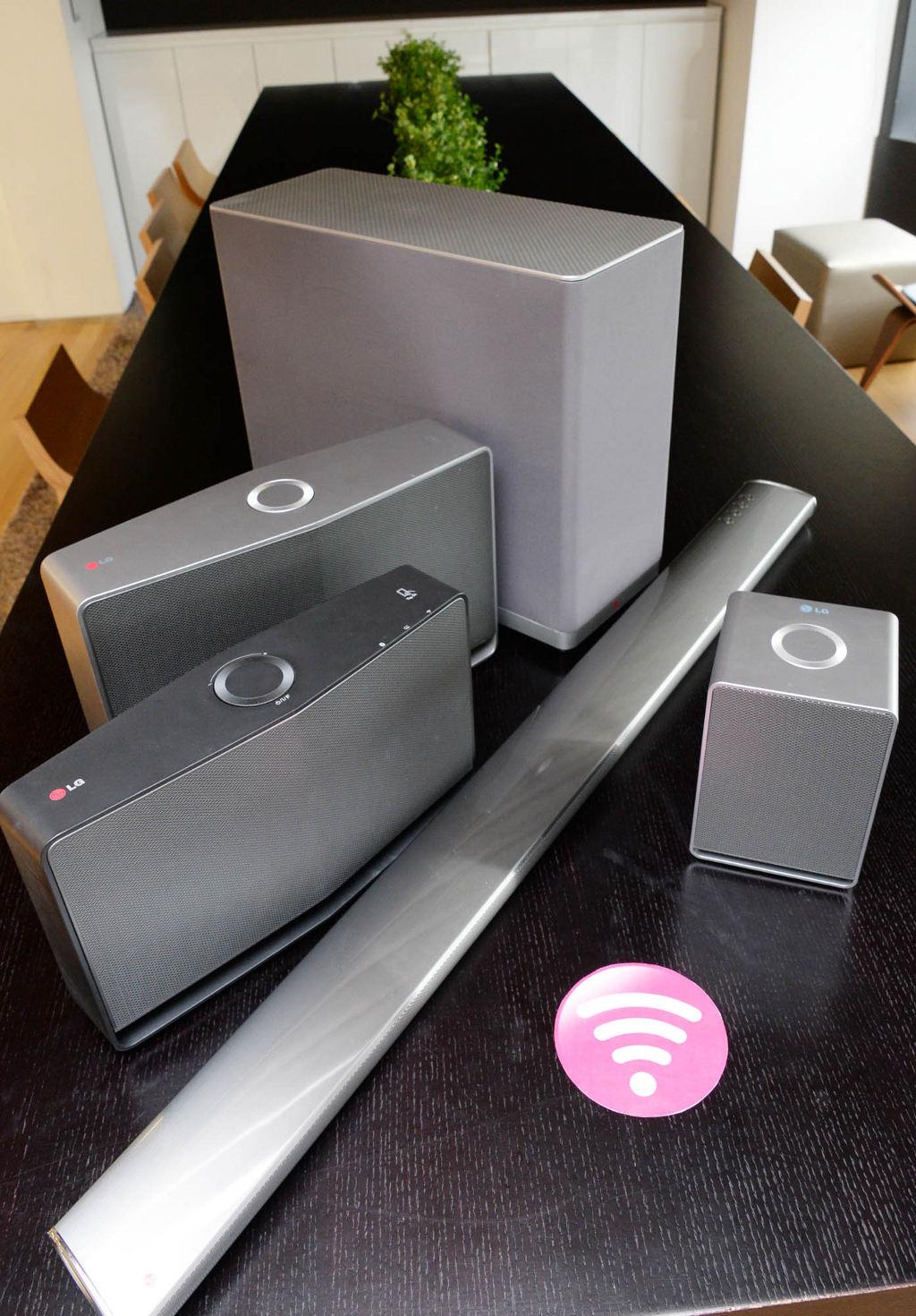 Multi Room-System von LG