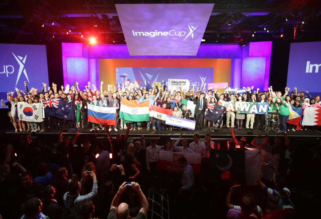 Microsoft-Jury im Imagine Cup Finale