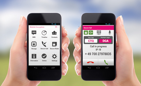 Mobile Encryption App für Android- und iOS-Geräte
