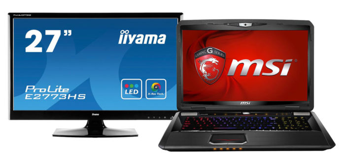MSI GT70 Monitorbundle