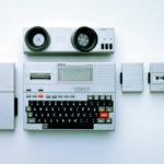 Erster tragbarer Computer Epson HX-20
