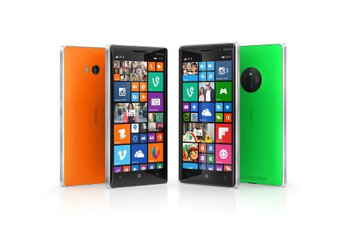 Lumia Smartphones von Microsoft