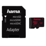 Hama microSDHC/XC + Adapter/Foto UHS Speed Class 3 UHS-I 80MB/s