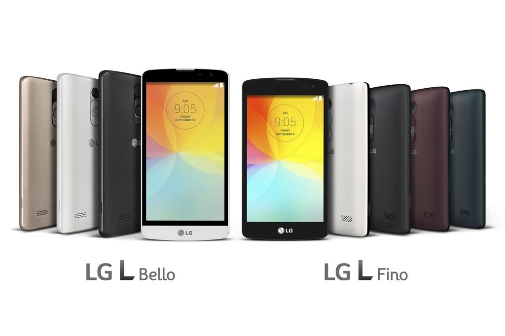 LG Smartphones L Fino und L Bello