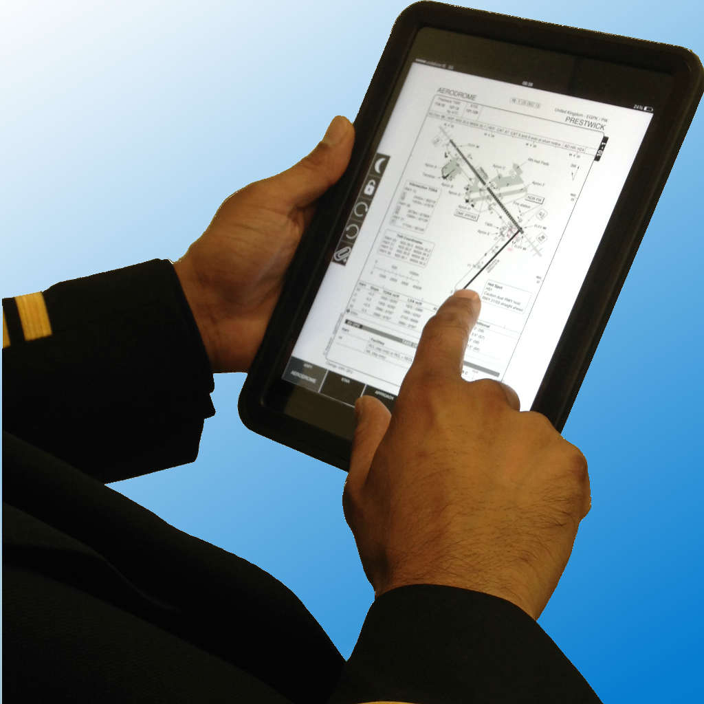 Ryanair iPad als EFB