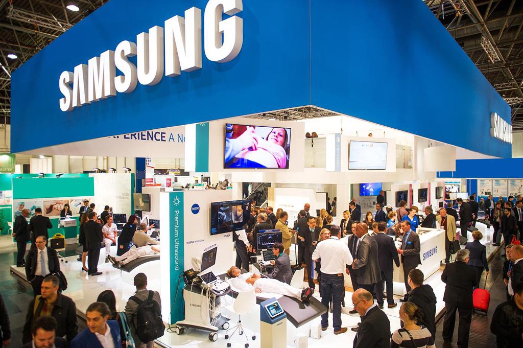 Samsung auf der MEDICA