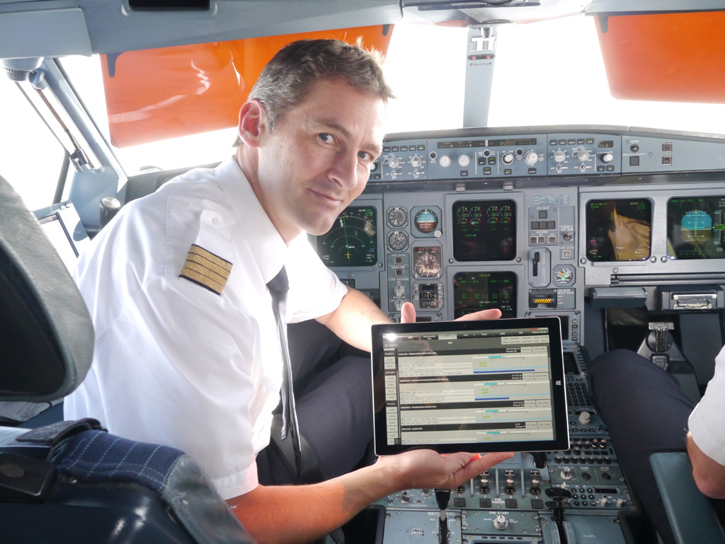 Lufthansa stattet Piloten mit Surface Pro 3 aus