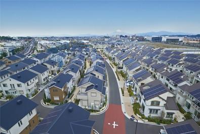 Fujisawa Sustainable Smart Town von Panasonic