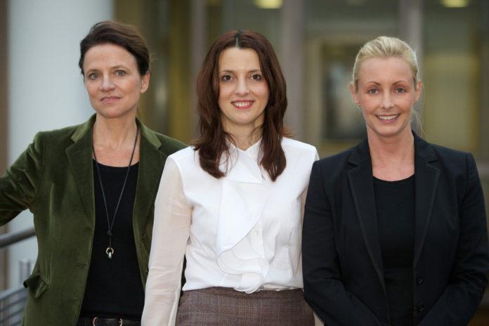 Antje Hundhausen, Corina Paun und Hanna Rieke nehmen am neuen Programm teil