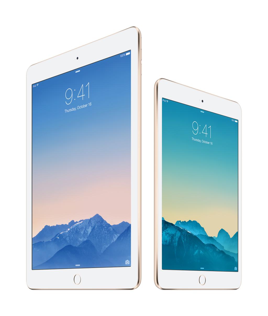 Apple iPad Air 2 & iPad mini 3