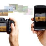 FinePix S9900W: kabelloser Bildtransfer