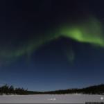 Polarlichter in Finnland