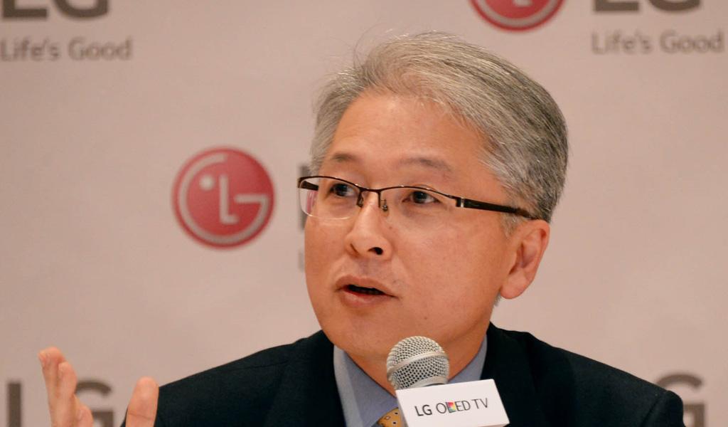 Bong-suk Kwon, Executive Vice President und CEO der LG Home Entertainment Company