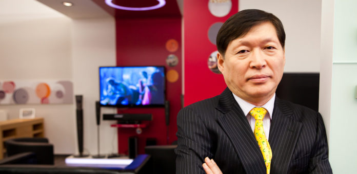 LG CEO YOUNG W. LEE