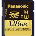 Panasonic SDXC SDHC Speicherkarten_SDUD 128GB