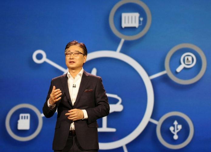Samsung CEO BK Yoon