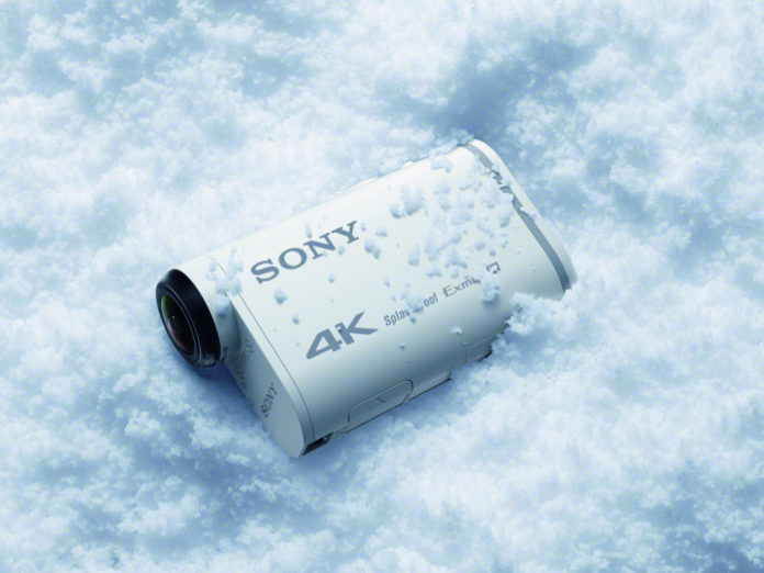 Sony 4K Action Cam FDR-X1000VR