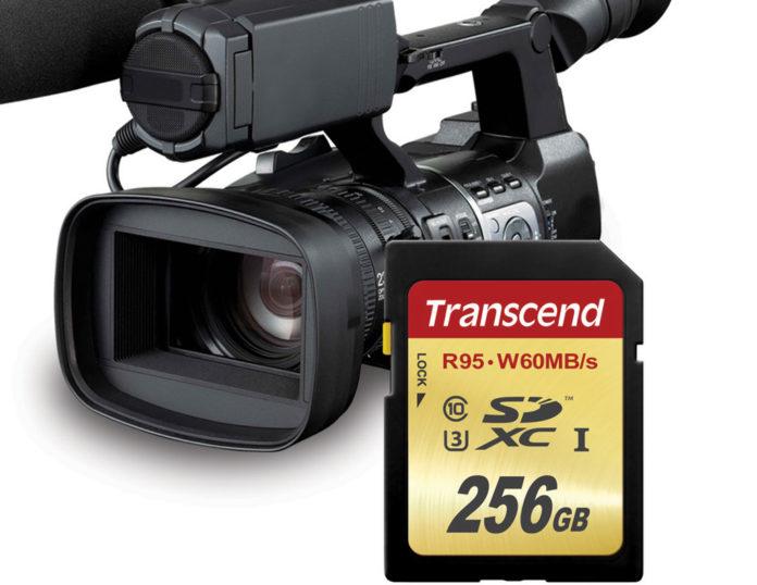 Transcend 256GB SDXC UHS-I Class 3 Speicherkarte