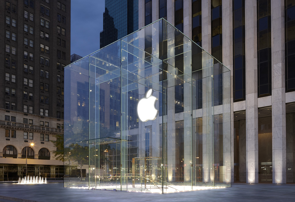 Apple Store Fifth Avenue New York City