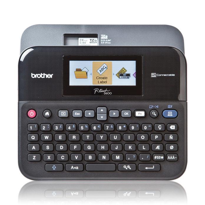 Brother PT-D600VP Beschriftungsgerät mit Farbdisplay