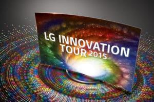 LG zeigt TV- und Produkthighlights bei Innovation Tour 2015 durch Deutschland