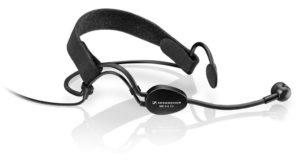 Das Sennheiser Headset-Mikrofon ME 3-II bietet verbesserten Tragekomfort und eine optimierte Akustik