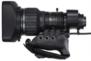 Neues Objektiv für HD-TV-Produktionen: Canon HJ24ex7.5B