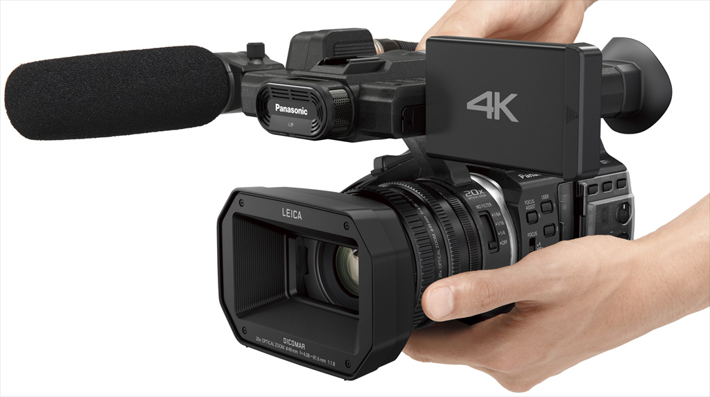 Panasonic 4K Camcorder HC-X1000