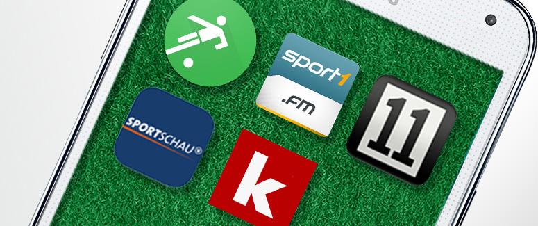 Apps zur Fußball-Bundesliga