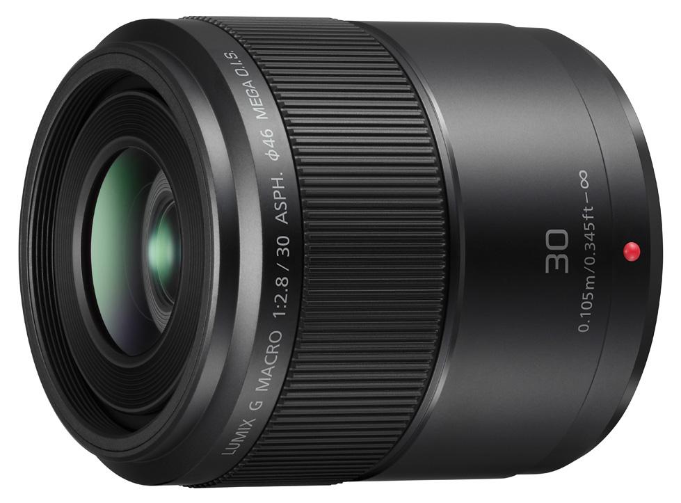 Panasonic bringt Objektiv LUMIX G MACRO 30mm/2,8 ASPH./O.I.S.