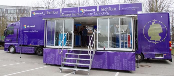 Microsoft TechTruck