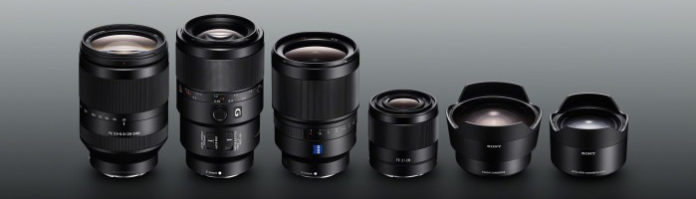 Sony Vollformat-Objektive und Konverter