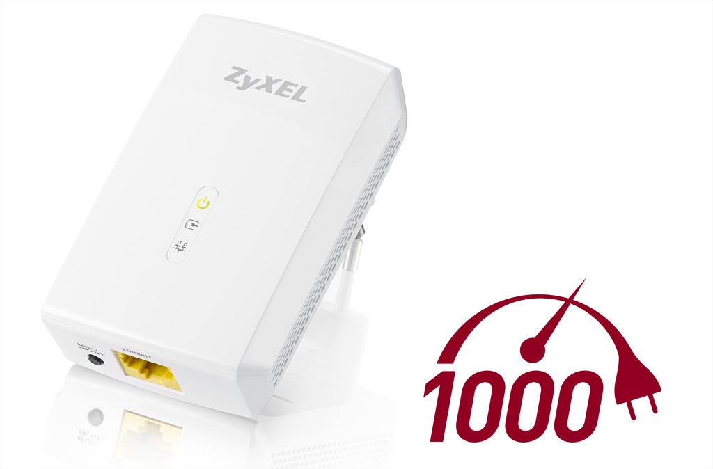 ZyXEL Powerline-Adapter mit Gigabit-Speed