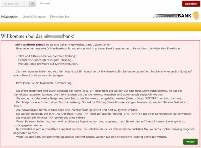 Kaspersky Emotet Testüberweisung