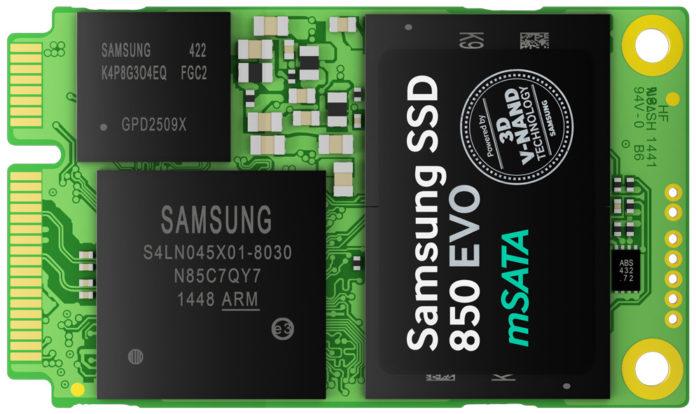 Samsung SSD 850 EVO mSATA 2