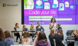 IT-Ausbildung: Girls' Day bei Microsoft