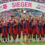 Bayern München sicherte sich den Telekom Cup 2014